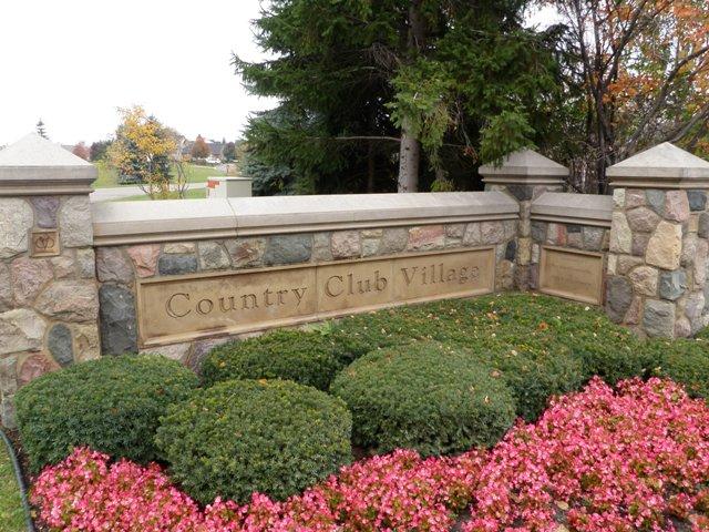 Country Club Village Northville Michigan
